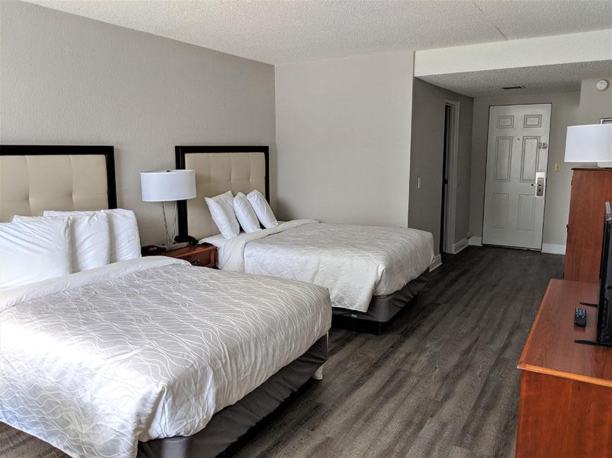 2 Double Beds Upper Courtyard Room