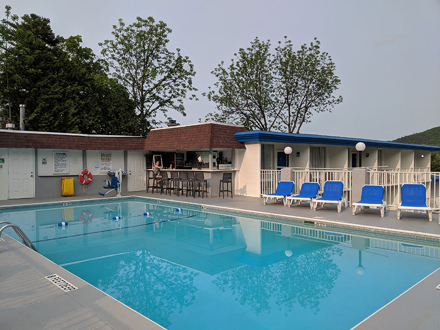 View of Pool and Snack Bar